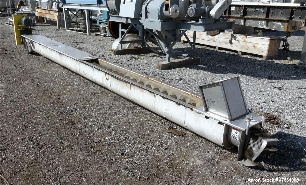 Used- Conveyor Engineering and Manufacturing Horizontal Screw Conveyor