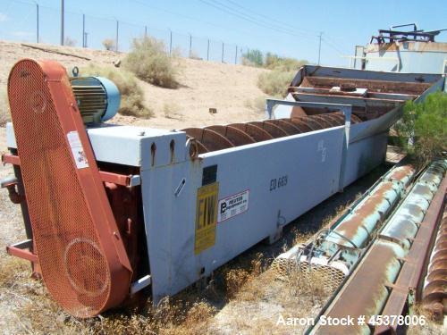 Used- Carbon Steel Eagle Single Sand Screw