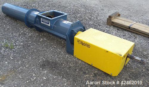 Unused- Goodman Conveyor Company Enclosed Tube Screw Conveyor, Carbon Steel. 9'' Diameter x 75-1/4'' long x 9 pitch screw, 1...