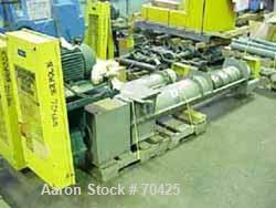 "Used-Unused- KWS Screw Conveyor, 304 Stainless Steel, Horizontal. 9"" diameter x 68"" long x approximate 2-1/2"" pitch tapered ..."