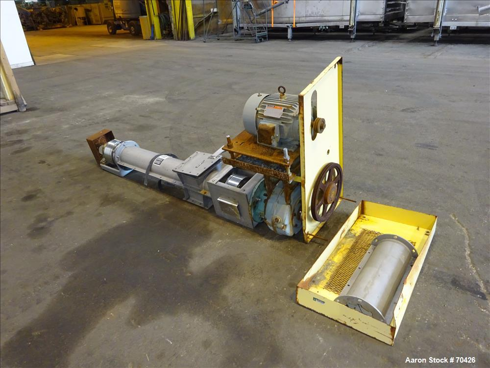 Used- Stainless Steel KWS Screw Conveyor