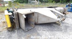 "MACO Bagasse Flotation Washer Screw Conveyor, Stainless Steel. Approximate 32"" diameter x 17' long ..."