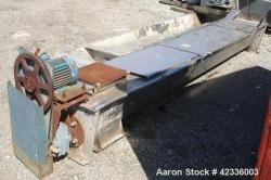 Used- Stainless Steel Link Belt Screw Conveyor