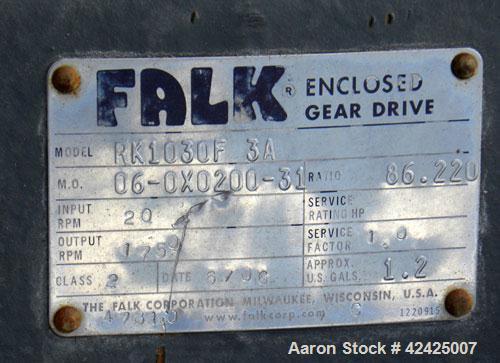 Used- Enclosed Tube Screw Conveyor, Stainless Steel. 6'' Diameter x 28'' long 304 stainless steel screw. 301 Stainless steel...
