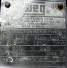 Used- Screw conveyor, 304 stainless steel, horizontal. 9