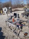 Used- Incline screw conveyor, 304 stainless steel. 6