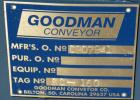 Unused- Goodman Conveyor Company Screw Conveyor, Carbon Steel. 9