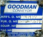 Unused-UNUSED: Goodman screw conveyor, 304 stainless steel, horizontal. 24