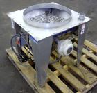Used- Hapman Flexible Screw Conveyor Parts Consisting Of: (1) 24