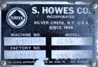 Used- S. Howes Inclined Screw Conveyor, Model 4C10, 304 Stainless Steel. 4