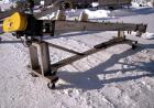 Used- Inclined Screw Conveyor, 304 stainless steel. 6