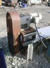 Used- Screw Conveyor, Carbon Steel. Approximately 12
