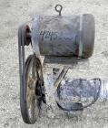 Used- Tubular Incline Screw Conveyor, 304 Stainless Steel. 6