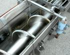 USED: Screw Conveyor, 304 stainless steel, horizontal. 14