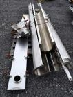 Used- Screw Conveyor Parts, 304 Stainless Steel. Consisting of: (3) 118