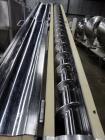 Used-S. Howes Split Tube Screw Conveyor, Stainless Steel. 4