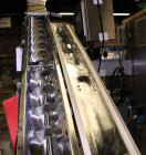 Used- S. Howes Split Tube Screw Conveyor, Stainless Steel. 5