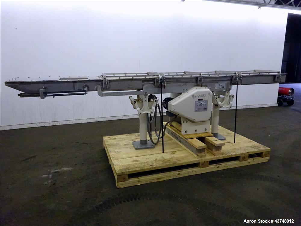 Used- Stainless Steel FEC X-Force Horizontal Motion Conveyor