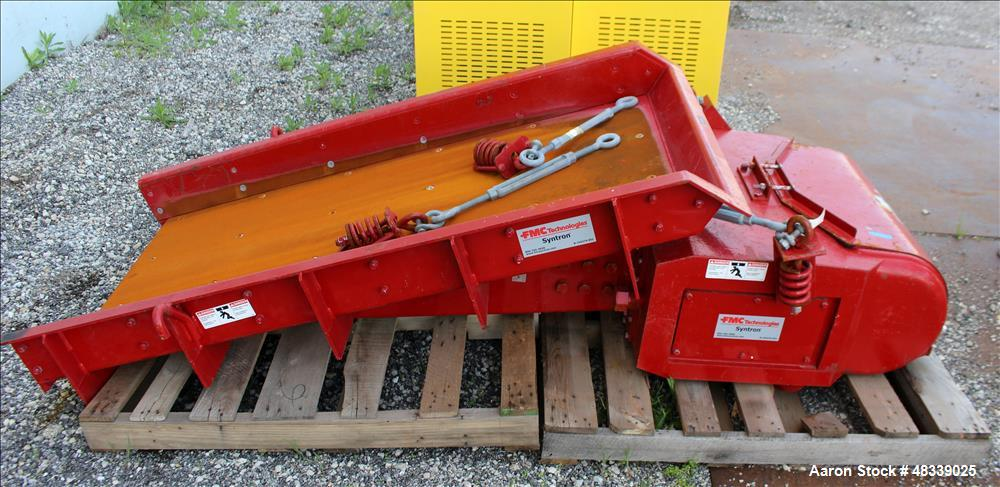 Used- FMC Vibratory Feeder, Model F-450-C-DT.