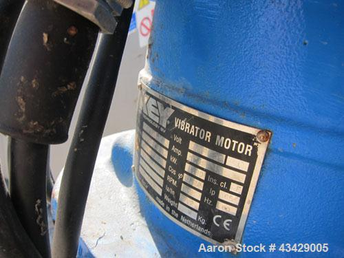 Used- Stainless Steel Key Technology Vibratory Conveyor, Model 432554-1