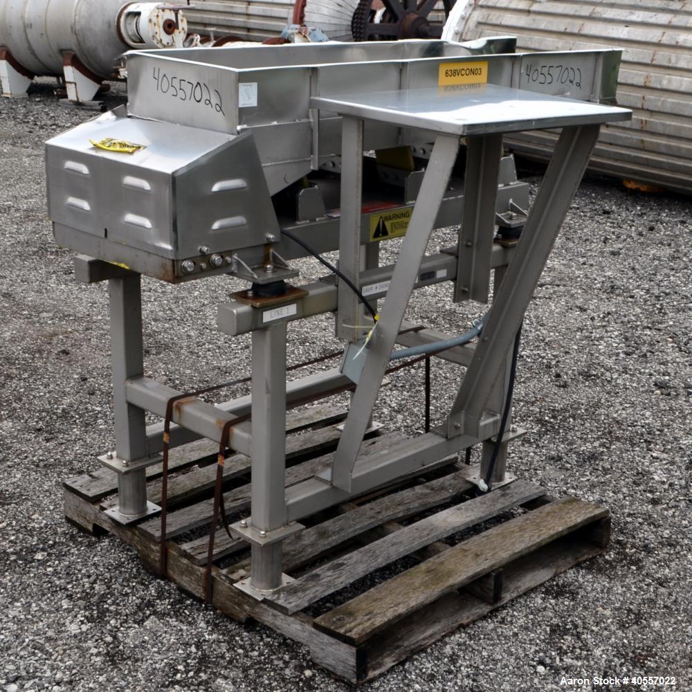 Used-Meyer MachineVibratoryConveyor, ModelAFN-1660-120
