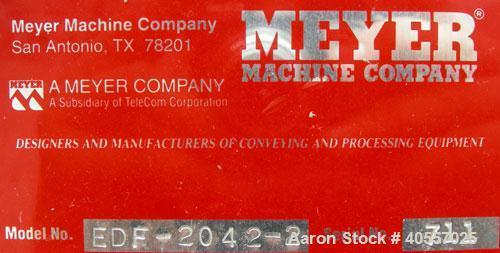 Used-Meyer MachineVibratoryConveyor, ModelEDF-2042-2