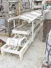Used- Cardwell Vibe-O-Vey Conveyor, Model VC-1659.Plastic trough 22