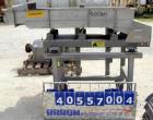Used- Meyer Machine vibratory conveyor, model AFN-1660-120, 304 stainless steel. Pan 16