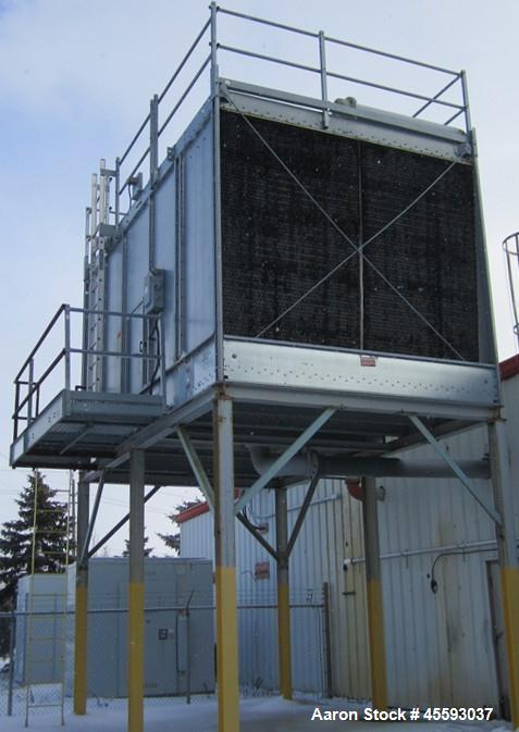 Used- 2004 Marely model 1-NC8306G1 cooling tower, 25 hp capacity, 547 tons capacity, 3/60/575 volts