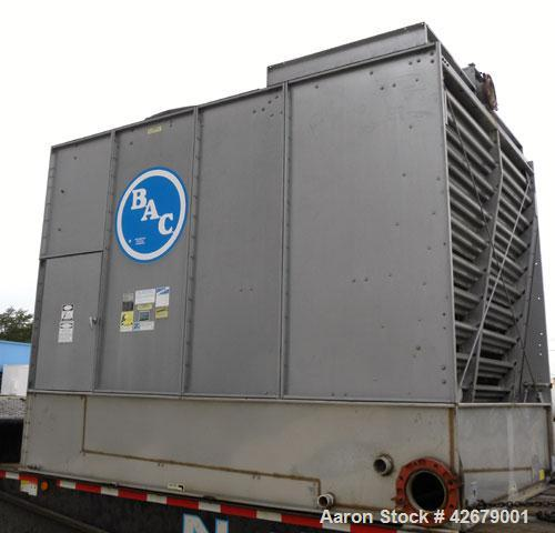 Used- Baltimore Aircoil Series 1500 Induced Draft, Crossflow Single Cell Cooling Tower, Nominal 168 Tons, Model 15168WS. Gal...