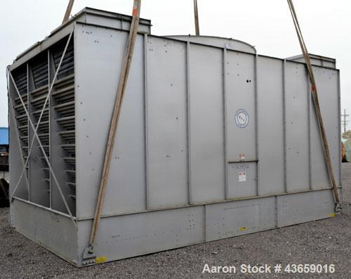 Used- Baltimore Aircoil Series 3000 Industial Single Cell Cooling Tower, Nominal 517 Tons, Model 3766 2MC. Galvanized steel ...