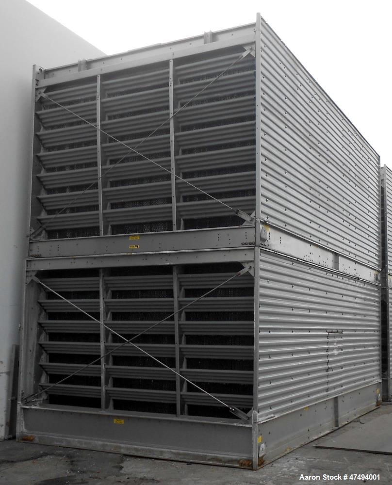Used- BAC Cooling Tower, Model 3872C-PM-2/Q. Series 3000 open cooling tower. Dry sump tower. 1692 tons, 304 stainless steel,...