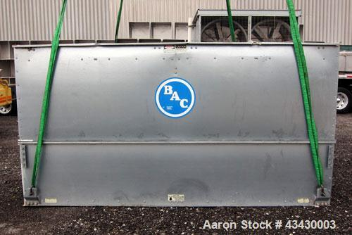 Used- Baltimore Aircoil BAC Series V Evaporative Condenser, Nominal 541 Tons, Model VC2-541. Galvanized steel housing. Dual ...
