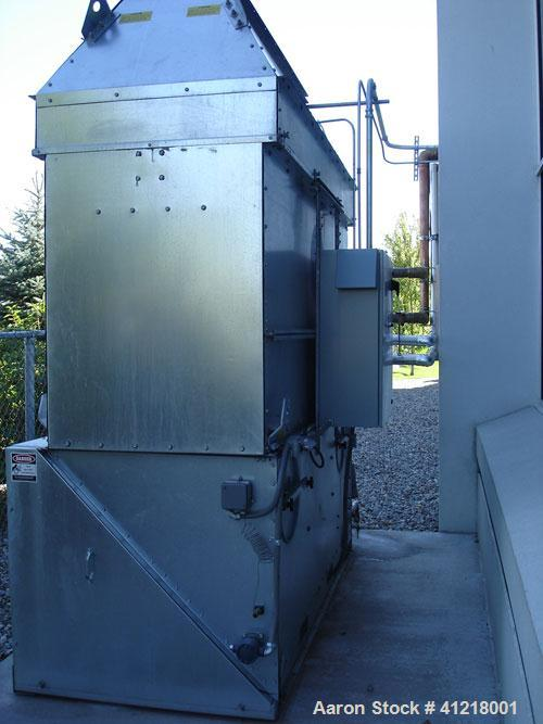 Used-BAC 35 Ton Series V Closed Circuit Cooling Tower, Model VFI-027-21K. Mfg 2006. 208V, 60 hz, 3 phase. Dry type fluid coo...