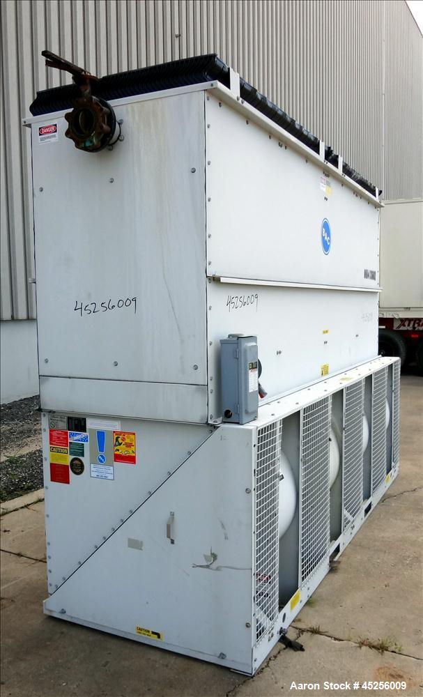 Used- Baltimore Aircoil Cooling Tower, Model VXT-105C. Approximately 105 ton capacity. Galvanized housing, forced draft, pre...