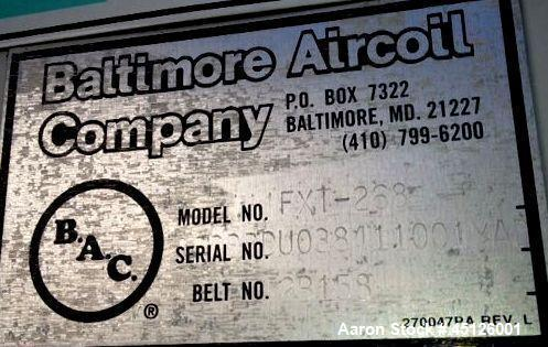 Used- Baltimore Air Coil Cooling Tower, Model FXT-268