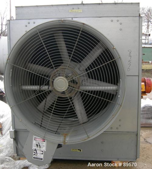 USED: Baltimore Air Coil cooling tower, model FXT-58. Nominal capacity 58 tons, 18,500 cfm fan driven by a 3 hp, 3/60/208-23...