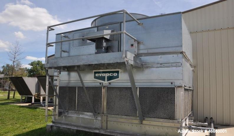 Used- Evapco Cooling Tower, 300 Ton, Model At-19-314. Stainless Steel Basin. Mfg. 2005.