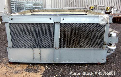 Used- Evapco Closed Circuit Cooling Tower, Model ATW 77-4I-2. Nominal capacity 90 ton. Galvanized steel housing. Unit design...