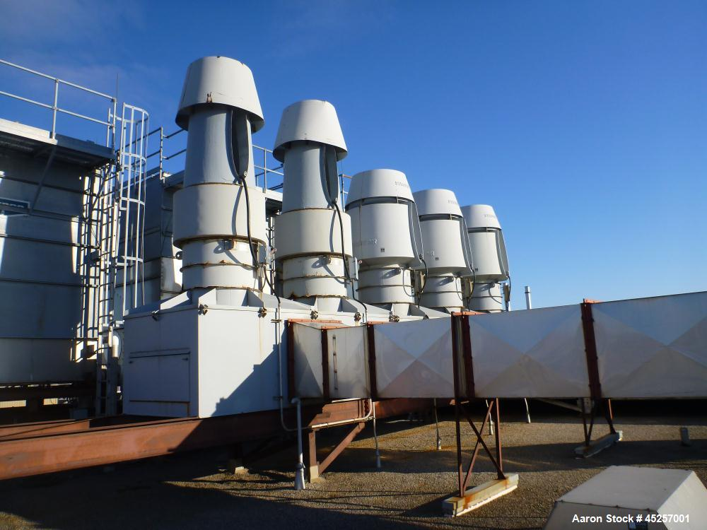Used- Evapco Roof Top Cooling Tower, Model LSTA-10-122