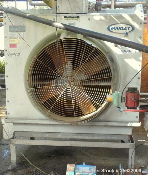 Used- Marley Series 3800 Aquatower Cooling Tower, nominal tons 60, model 3842, fiberglass construction. 42'' diameter fan dr...