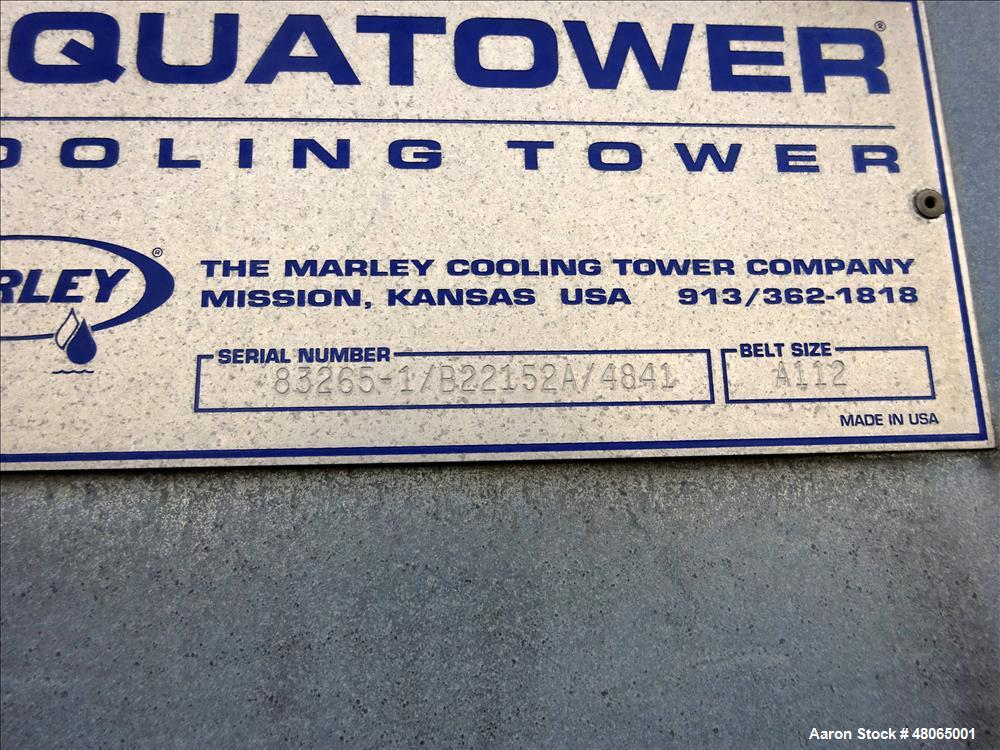 Used- Marley Series 4800 Aquatower Single Cell Cooling Tower, Model 4841.