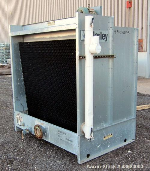 Used- Marley Series 4800 Aquatower Single Cell Cooling Tower, Model 4842, Approximately 60 Nominal Tons. Galvanized steel ho...
