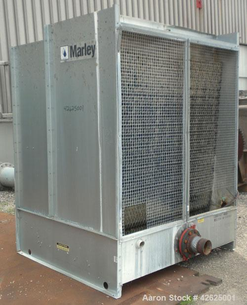 Used- Marley Aquatower Cooling Tower, Model 4852. Nominal capacity 85 ton, 255 gallons per minute. Single cell, galvanized h...