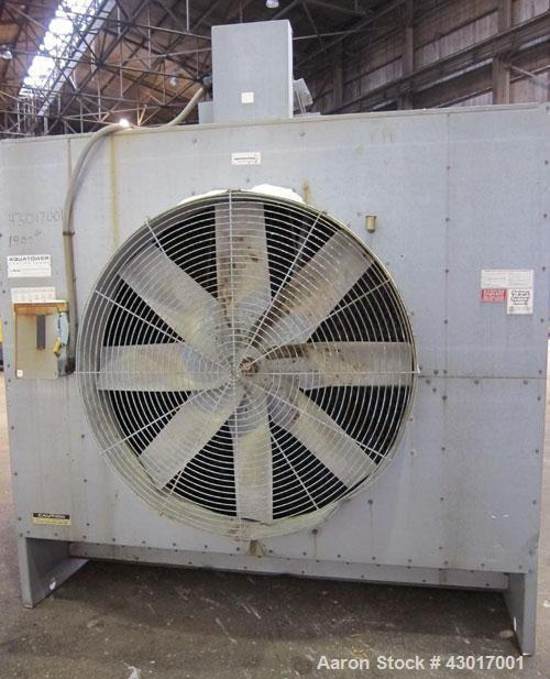 Used- Marley Series 4800 Aquatower Single Cell Cooling Tower, Model 4862, Approximately 125 Nominal Tons. Galvanized steel h...