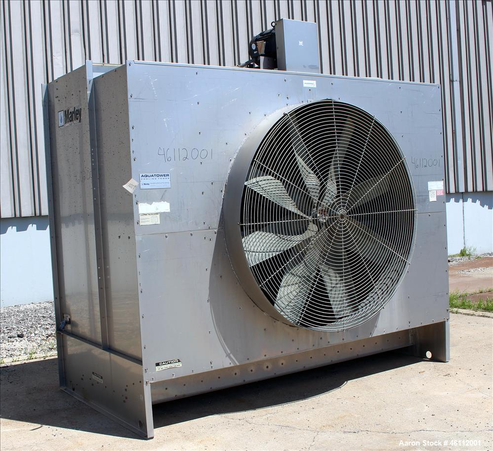 Used- Marley Aquatower Cooling Tower, Model 4871SS,