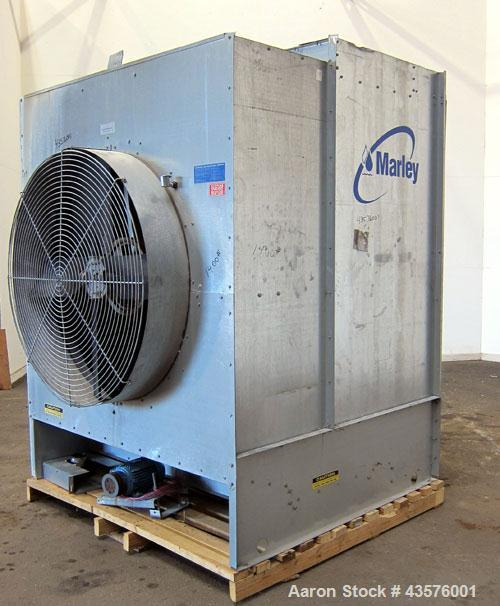Used- Marley Aquatower Single Cell Cooling Tower, Model 494A, Approximately 51 Nominal Tons. Galvanized steel housing. Desig...
