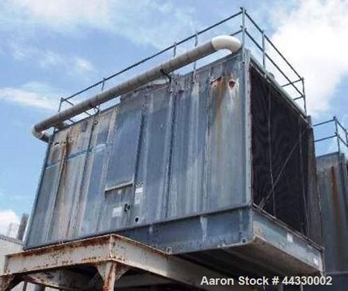 Used-Marley NC Class Single Cell Cooling Tower, Model NC 4011, Serial #013914-000-91, Approximately 210 nominal tons, 25 hp,...