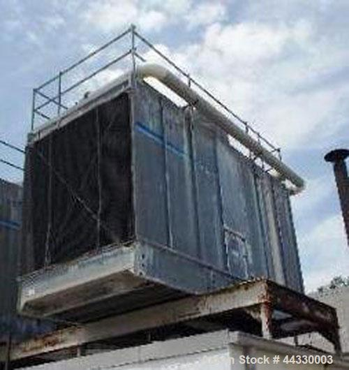 Used-Marley NC Class Single Cell Cooling Tower, Model NC 4011, serial #1-809-91. Approximately 210 nominal tons, 25 hp, 630 ...