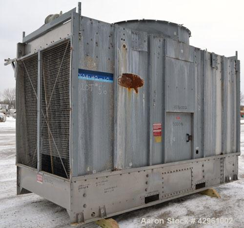 Used- Marley NC Series Single Cell Cooling Tower, 180 Ton, Model NC1021CM. Galvanized steel housing, stainless steel bottom ...